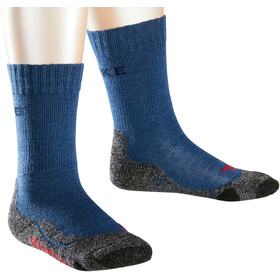 Falke TK2 Trekking Socken Kinder dark blue